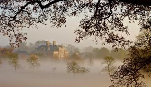 Wimpole Estate once a vibrant village