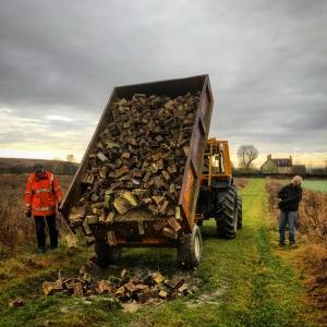 Track repairs at Rectory farm
