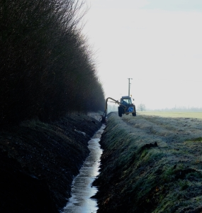Scouring the ditch the modern way