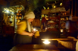 The medieval restaurant