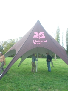 Tent up - easy peasy!